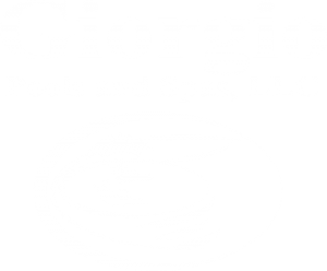 Giorgio Pools Spas White Logo